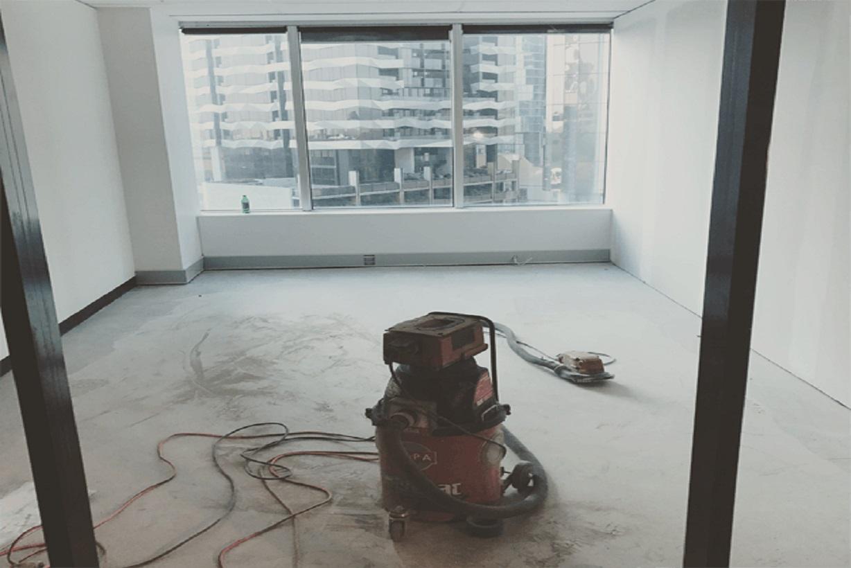 Concrete surface preparation diamond grinding