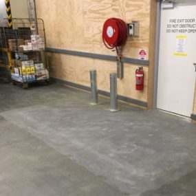 After surface prep grind Melbourne by Grind and Seal