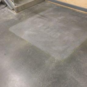 After photo surface preparation grind Melbourne