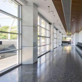 Albury Art Gallery uses polished concrete
