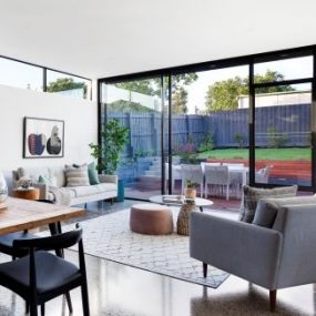 Residential grind and seal polished concrete melbourne